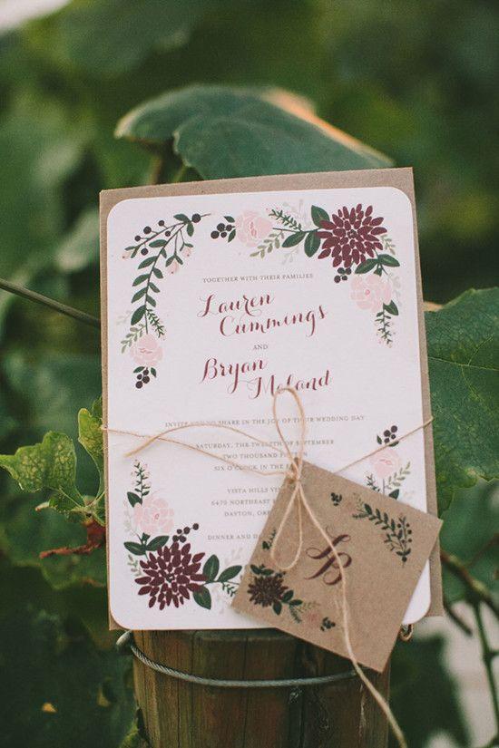 partecipazioni matrimonio tema vino marsala