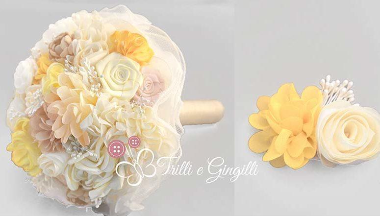 Bouquet sposa di fiori finti: ecco le tendenze per il 2018!