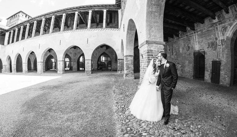 Il matrimonio a tema scuola di Magda e Giuseppe