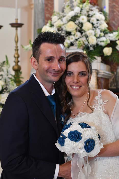 sposi chiesa