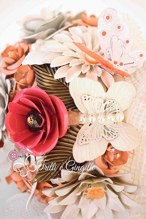 bouquet sposa farfalle