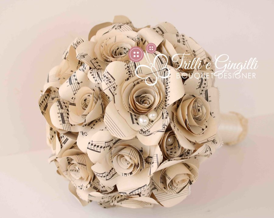 bouquet tema musica spartiti musicali