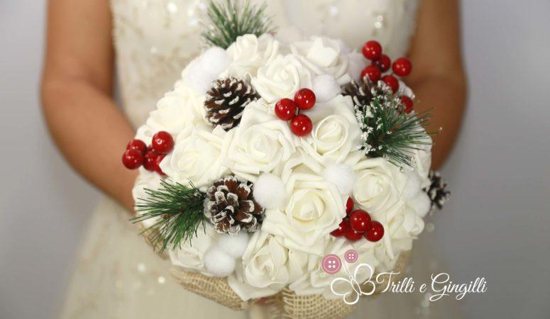 Bouquet sposa natalizio: tanti esempi spettacolari!