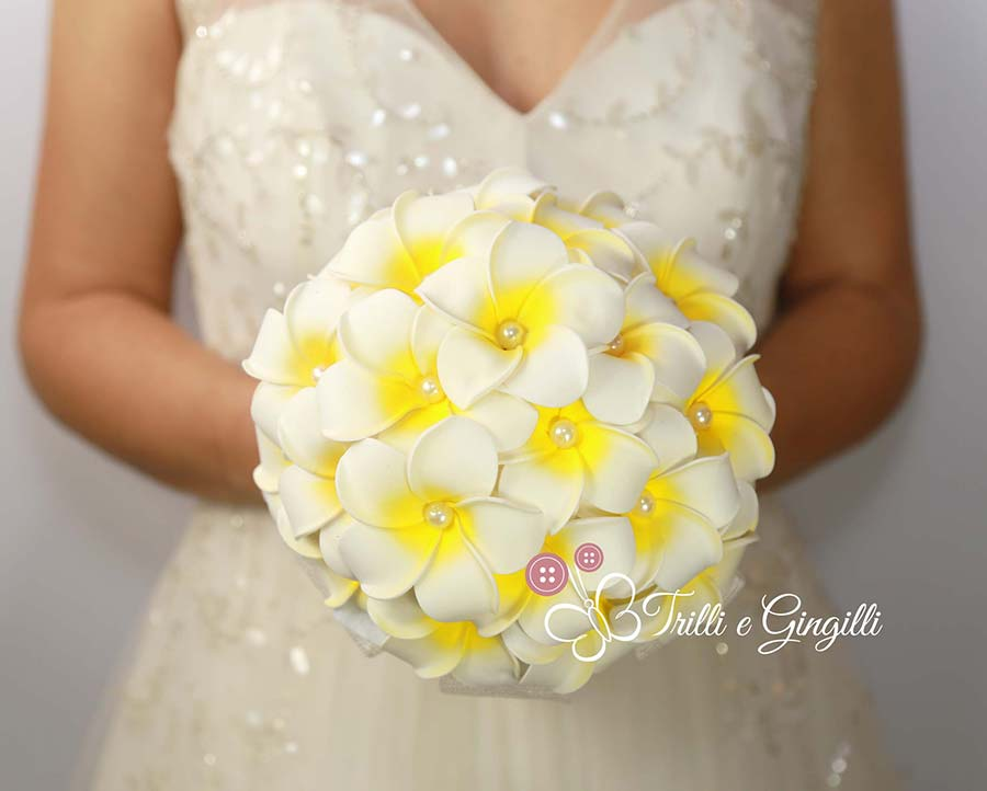 bouquet 2018 frangipani
