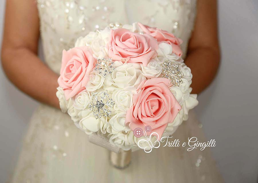 bouquet sposa 2018 di rose