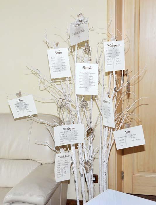 Matrimonio Tema Albero : Il matrimonio a tema alberi di elisabetta e fabio