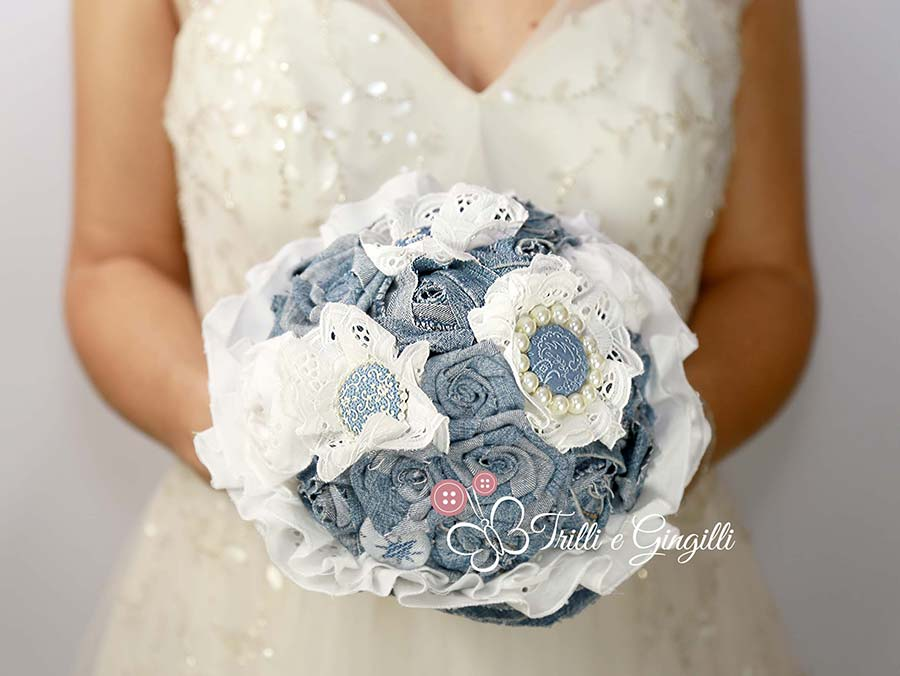 bouquet promessa matrimonio jeans