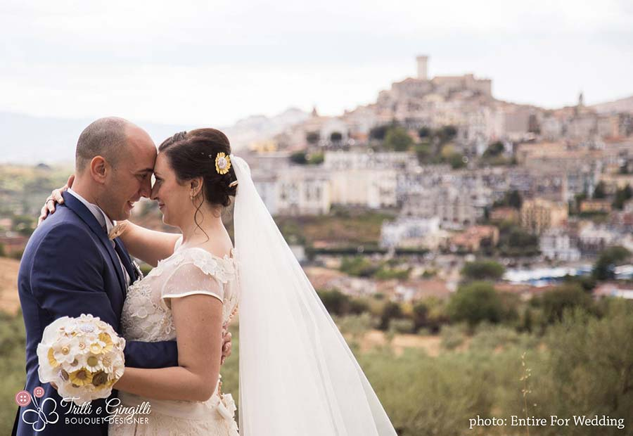 Matrimonio Tema Margherite : Il matrimonio a tema margherite country chic di simona e