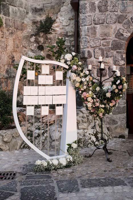 Tableau matrimonio tema musica classica