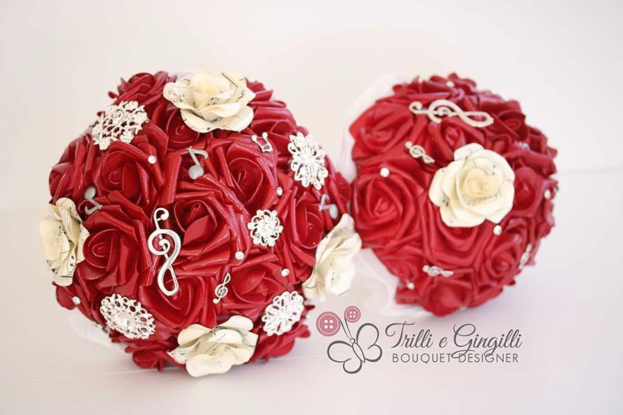 best service de8a9 aee4c FOTO E IDEE] Bouquet damigelle grandi e piccole: tantissime ...