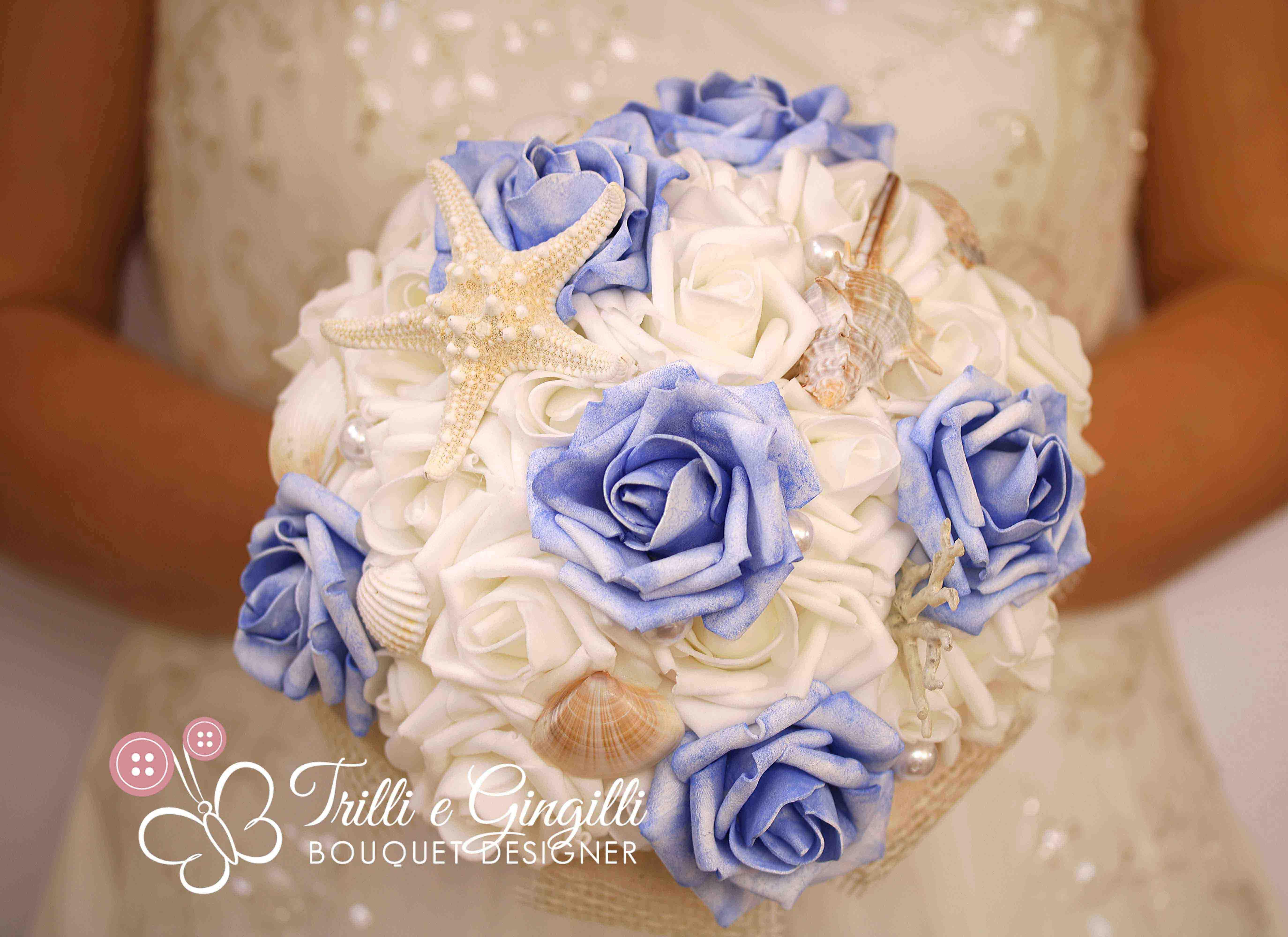 Bouquet Sposa Tema Mare.Matrimonio Tema Mare Foto E Idee Per Delle Nozze Perfette