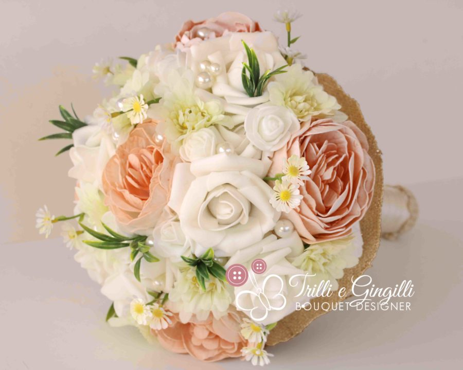 bouquet peonie margherite