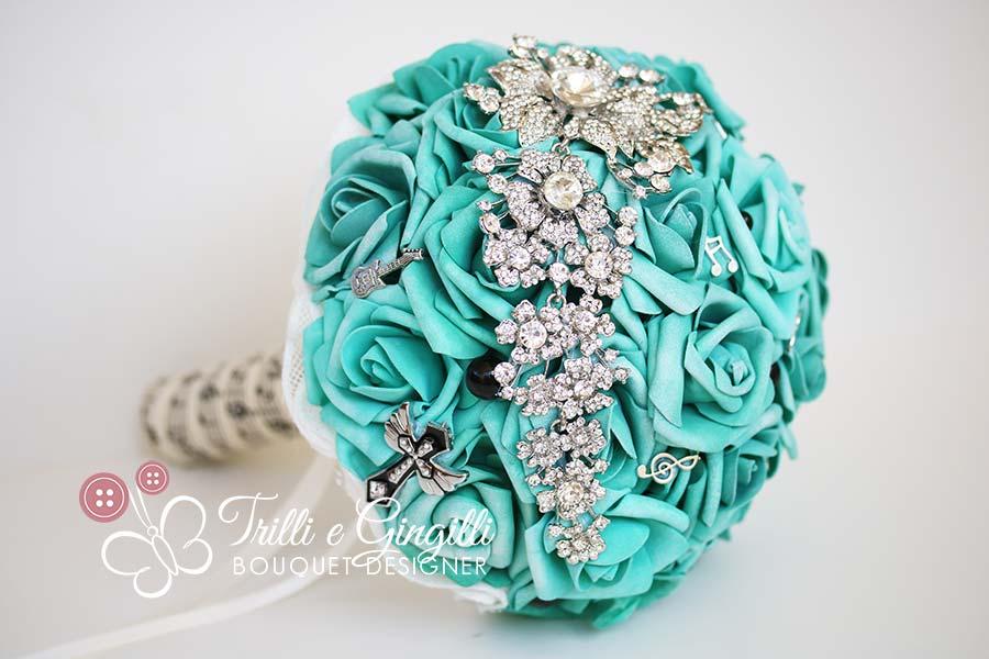 bouquet azzurro tiffany