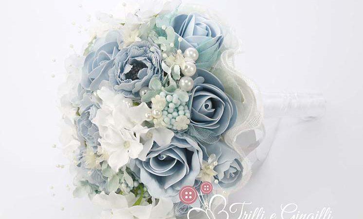 Bouquet sposa azzurro: tante foto dei bouquet più belli e di tendenza!