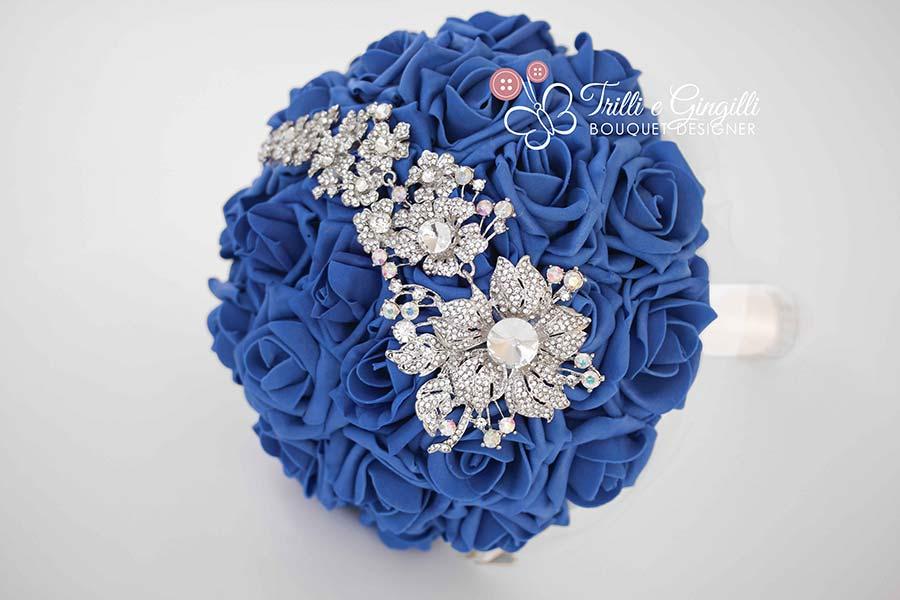 bouquet sposa moderni gioiello