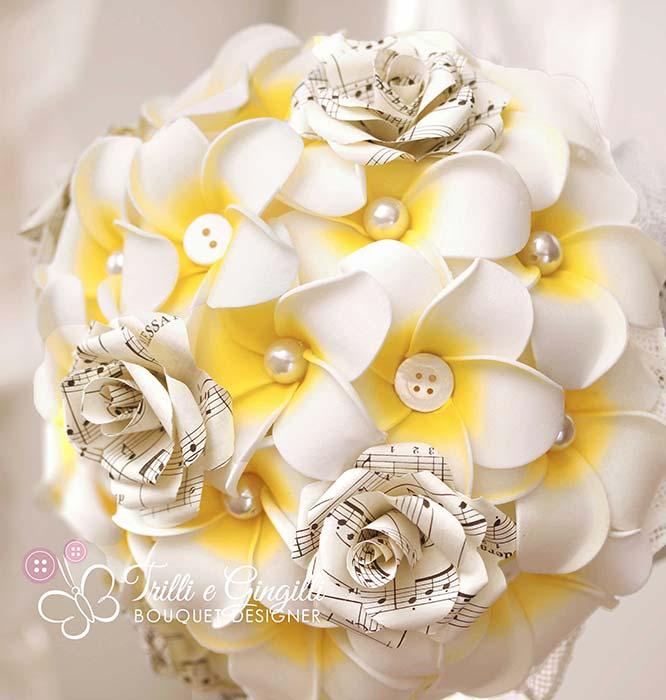 bouquet plumeria tema musica