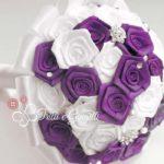 bouquet raso viola