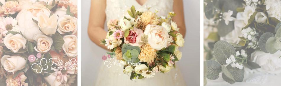 bouquet sposa fiori finti