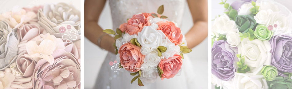 bouquet sposa peonie e rose