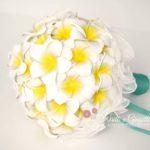 bouquet sposa plumeria