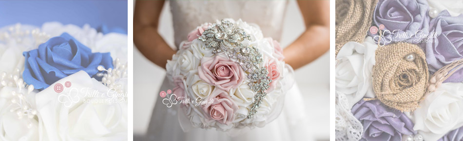 bouquet sposa di rose