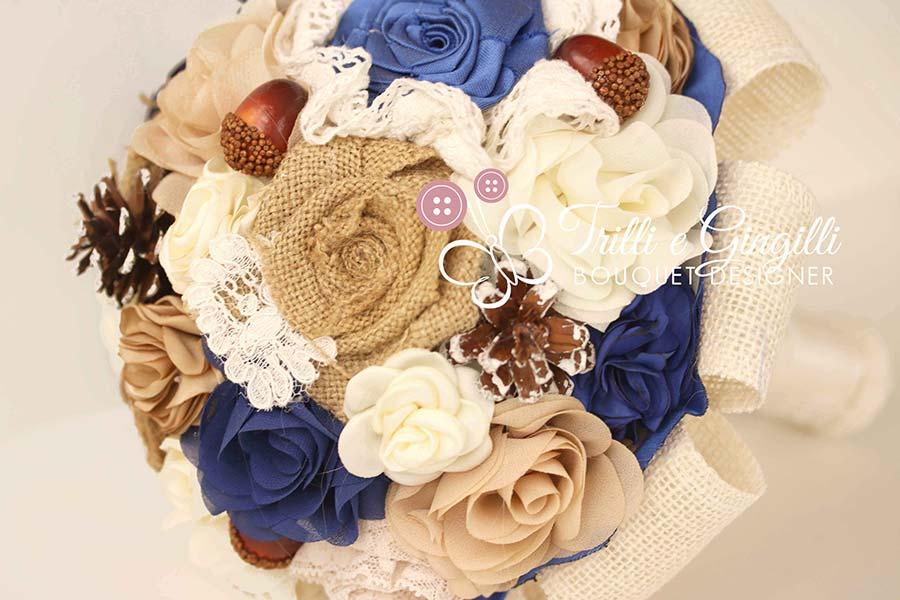 Bouquet Sposa In Stoffa.Bouquet Sposa Di Stoffa E Tessuto Ecco I Modelli Piu Originali