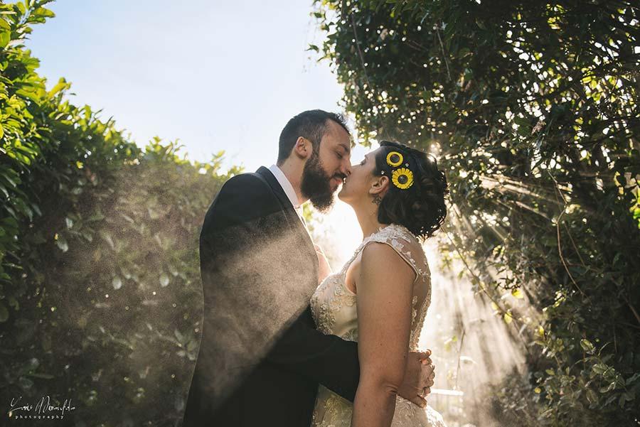 fiori acconciatura sposa