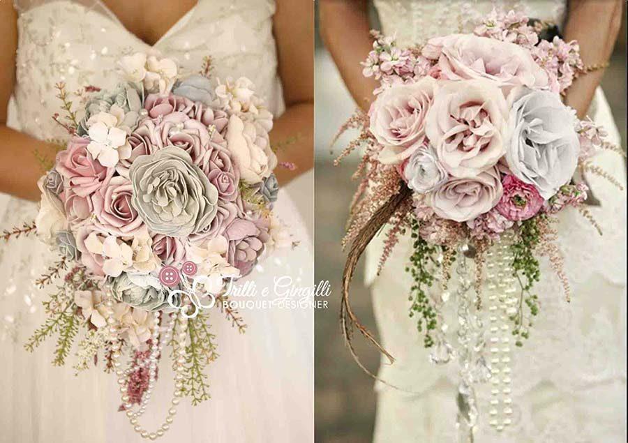 riproduzione bouquet sposa