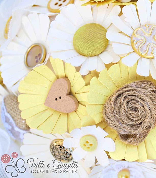 bouquet anniversario nozze di legno