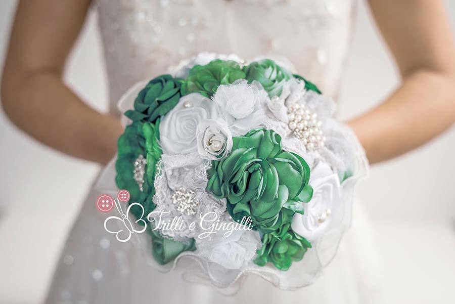 bouquet anniversario nozze smeraldo