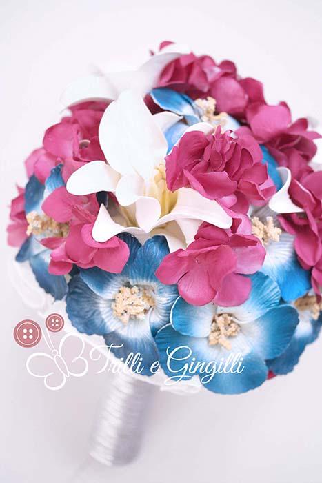 bouquet nozze di perla giglio