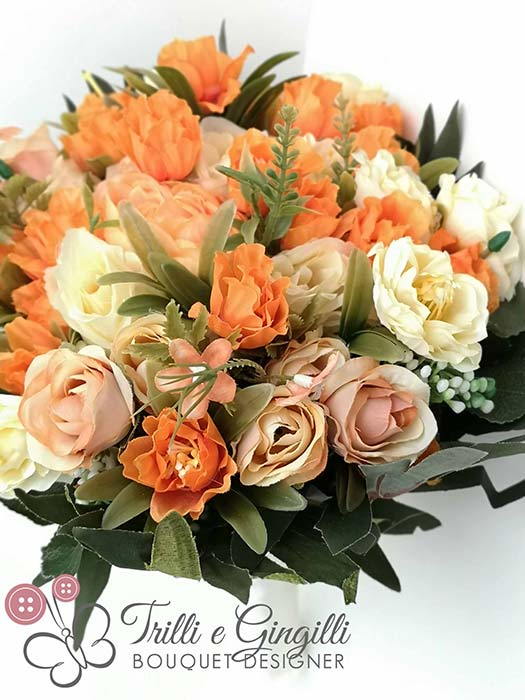 bouquet sposa tendenze 2019 boho chic