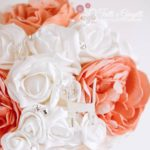 bouquet matrimonio sposa peonie gatti