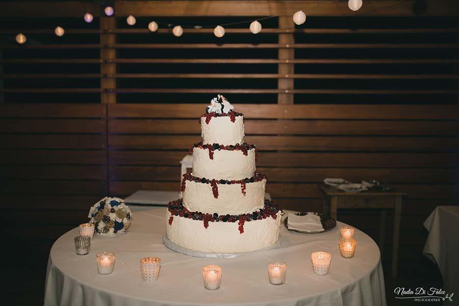 torta matrimonio country