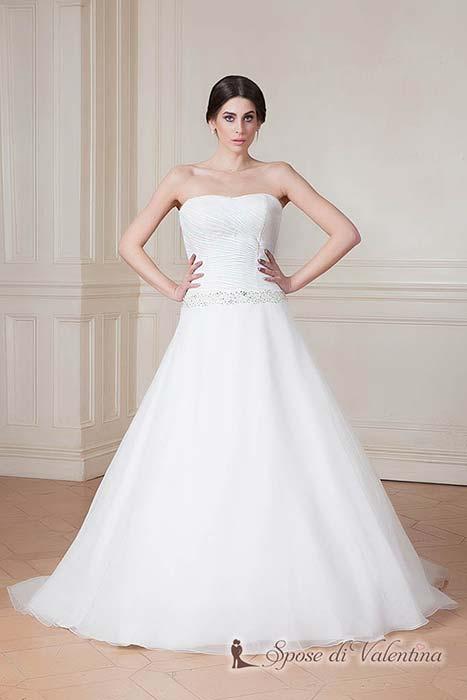 abito da sposa figura ad a