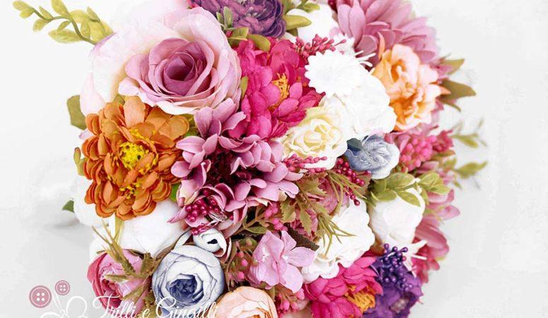Bouquet sposa colorato estivo: come scegliere quello giusto