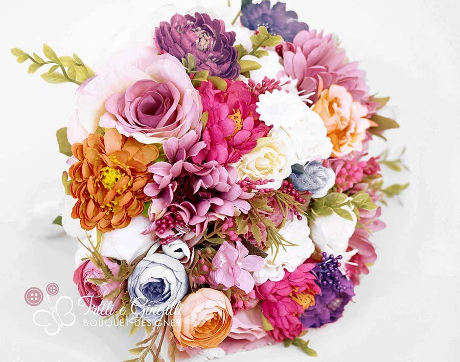bouquet colorato estivo