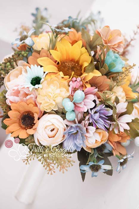 Bouquet Sposa Estivo.Bouquet Sposa Settembre Fiori E Colori Piu Adatti Per La Stagione