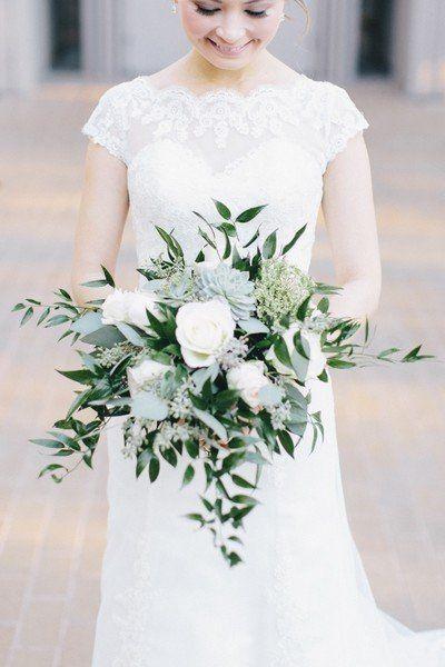 bouquet sposa matrimonio tema ulivo
