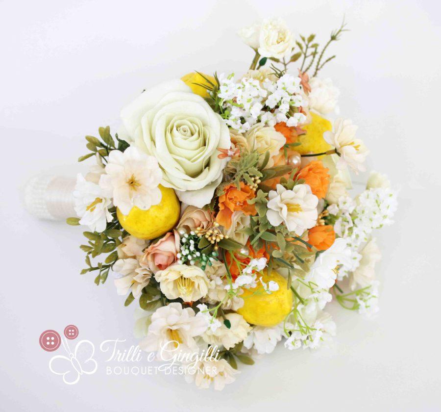 Bouquet con limoni