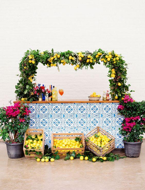 addobbi matrimonio tema sicilia