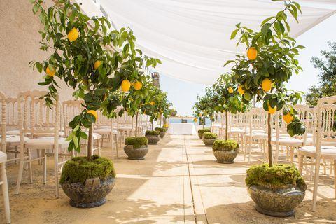 allestimenti matrimonio tema sicilia