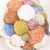 bouquet gomitoli di lana