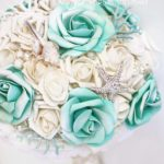 bouquet rose tiffany tema mare gioiello