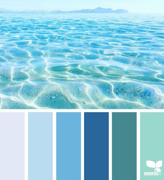 palette colori matrimonio tema sicilia blu mare