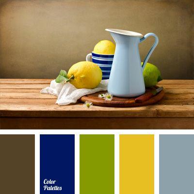 palette colori matrimonio tema sicilia giallo blu