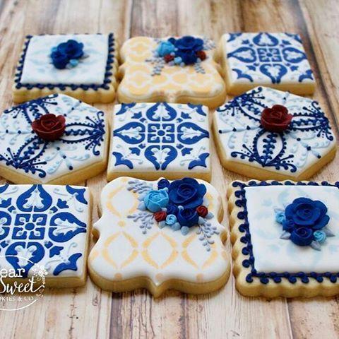 segnaposto matrimonio stile siciliano biscotti decorati