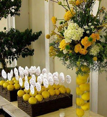 tableau nozze sicilia limoni