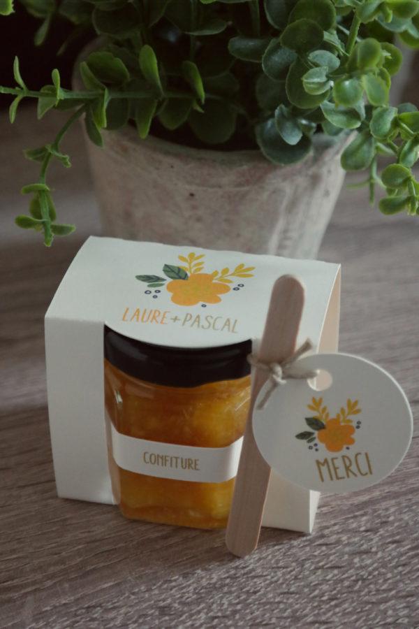 bomboniere vasetti marmellata matrimonio tema frutta