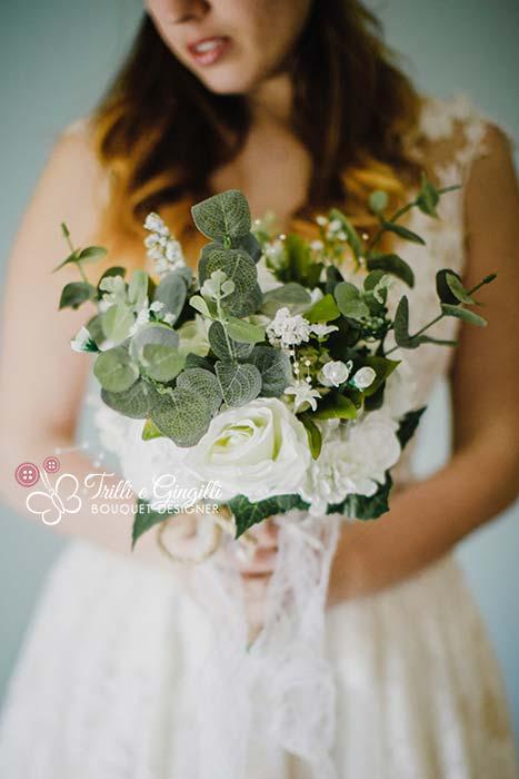 bouquet ecologico boho chic